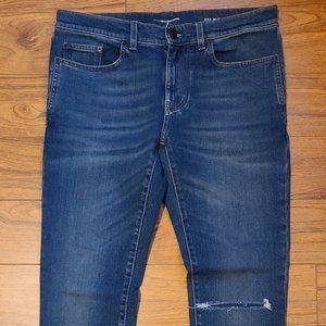 Saint Laurent Blue Denim Jeans Size 31W 29L